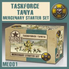 ME001 TASKFORCE TANYA MERCENARY STARTER SET