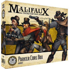 WYR23515 Malifaux 3E: Outcasts - Parker Core Box