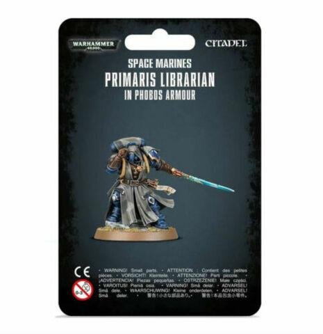 (48-67) Primaris Space Marines Librarian in Phobos Armor