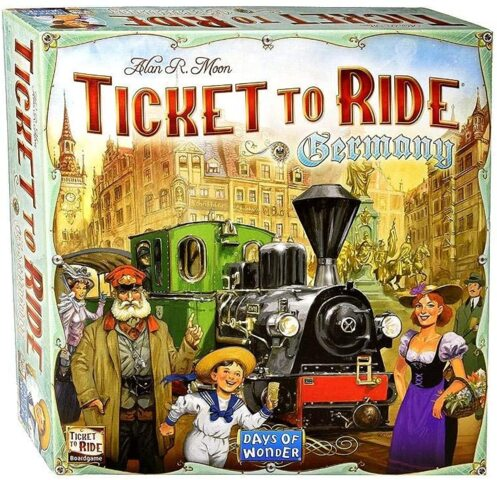 DOW7215 Ticket to Ride: Germany