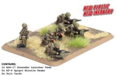 TSU706 Motor Rifle Heavy Weapons (Plastic)