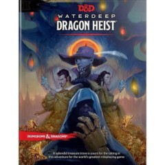 (WOC4658) Dungeons & Dragons 5th Edition RPG: Waterdeep - Dragon Heist (Hardcover)
