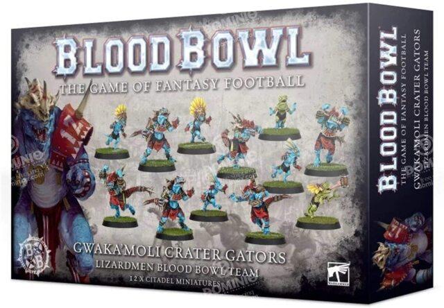 (200-74) Gwaka'moli Crater Gators - Lizardmen Blood Bowl Team
