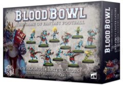 (200-74) Gwaka'moli Crater Gators - Lizardmen Blood Bowl Team