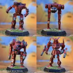 10-034 Sword and Dragon Mech Pack II