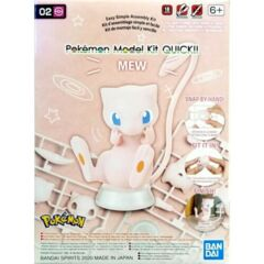 Pokemon Model Kit Quick!! 02 Mew