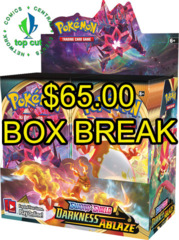 Sword & Shield - Darkness Ablaze Booster Box BREAK - Streamed