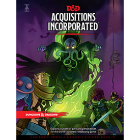 Dungeons and Dragons 5th Edition Aquisitions Incorporated