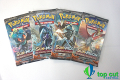 Sun & Moon Burning Shadows - Booster Pack Art Set - 4 Booster Packs