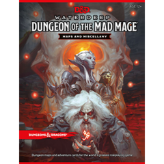 Dungeons and Dragons 5th Edition Waterdeep: Dungeon of The Mad Mage Map Pack