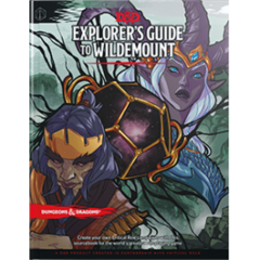 Dungeons and Dragons 5th Edition Explorer's Guide to Wildemount