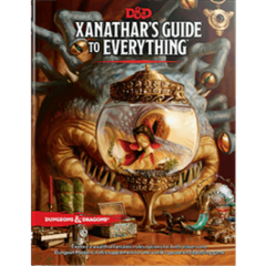 Dungeons and Dragons 5th Edition Xanathar Guide To Everything