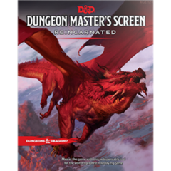 Dungeons and Dragons 5th Edition DM Screen Reincarnated