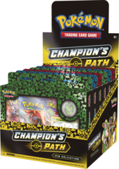 Champion's Path Pin Collection Display: Turffield, Hulbury, & Motostoke Gyms
