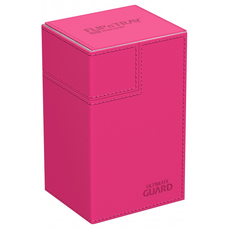 Ultimate Guard FlipNTray Deck Case 80+ Standard Size Xenoskin Pink
