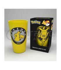 Pokémon Large Glass - Pikachu Sitting