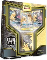 Pikachu & Zekrom-GX League Battle Deck PTCGO Code Card