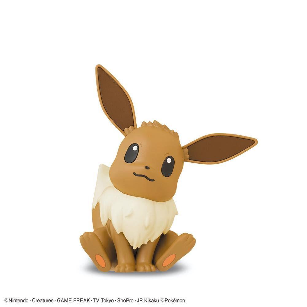 Pokemon Model Kit Quick!! 04 Eevee