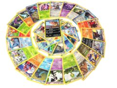 25 Rare Pokémon Cards with 100 HP or Higher (Assorted Lot with No Duplicates)…