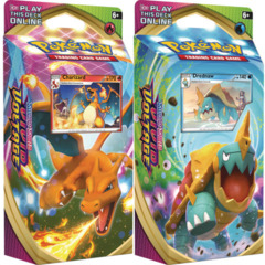 Sword & Shield - Vivid Voltage Theme Decks - Charizard & Dreadmaw