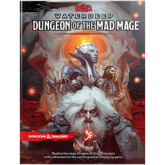 Dungeons and Dragons 5th Edition Waterdeep: Dungeon of The Mad Mage