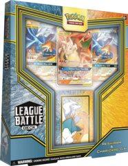 Reshiram & Charizard-GX League Battle Deck PTCGO Code Card