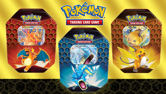 Pokemon Hidden Fates Tins - Case