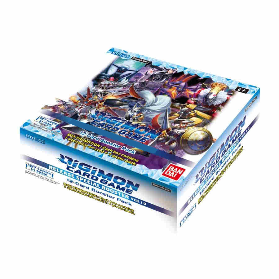 Digimon V1 Release Booster
