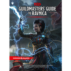 Dungeons and Dragons 5th Edition Guildmasters Guide To Ravnica