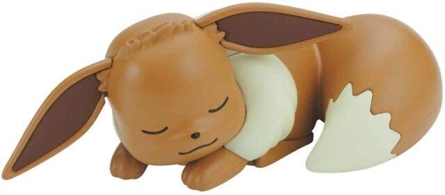 Pokemon Model Kit Quick!! 07 Eevee (Sleeping Pose)