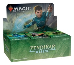 FRENCH - Zendikar Rising draft booster box