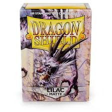 Dragon Shield Box of 100 in Matte Lilac