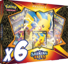 Shining Fates - Pikachu V / Full Case (6 units)