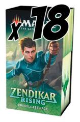 Zendikar Rising Pre-Release Case (18 Pre-Release packs)