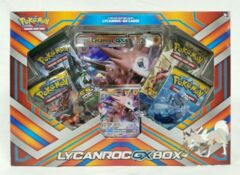 Pokemon TCG: Lycanroc GX Box