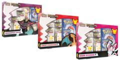 Pokemon Celebrations Collection Combo - Lances Charizard V + Dark Sylveon V + Dragapult Prime (One of Each)