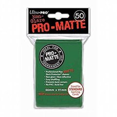 Ultra Pro Matte Sleeves Green