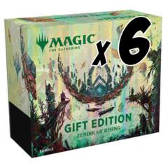 Zendikar Rising Gift Edition Bundle Case (x6 bundles)