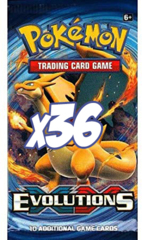 XY Evolutions Booster Bundle (36 packs) (Not a Booster Box)