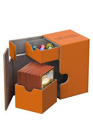 Ultimate Guard FLIPnTRAY DECK CASE 80+ - Orange