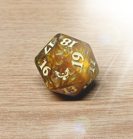 MTG Oversized Spin Down Life Counter D20 - Strixhaven