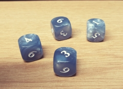 Unsanctioned D6 (Set of 4)
