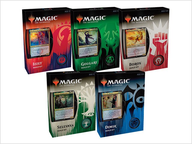 Guilds of Ravnica Guild Kit - Set of 5