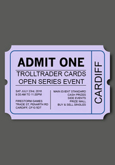 Cardiff Open Ticket - Saturday