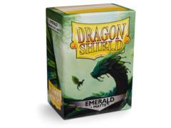Dragon Shield Box of 100 - Matte Emerald