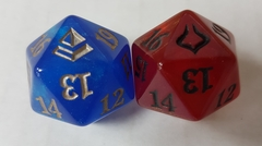 MTG Spin Down Life Counter D20 Dice Amonkhet Block (Set of Two)