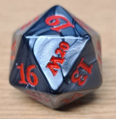 MTG Oversized Spin Down Life Counter D20 Dice Core Set 2020