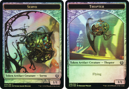 Thopter // Servo Double-sided Token - WPN Promo