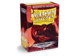 Dragon Shield Box of 100 - Crimson