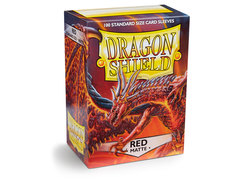 Dragon Shield Box of 100 - Matte Red